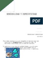 SENSIBILIDAD Y ESPECIFICIDAD