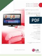 Spec Sheet LG700H Series