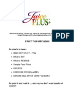 JUICE PLUS+ COMPLETE PLAN.