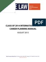2013 Llm Career Planning Manual