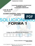 SOLUCIONARIO Simulador Enes - Prueba Senescyt - Preuniversitario FORMARTE