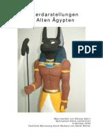 Goetterdarstellungen Im AltenAegypten