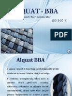 Hypochlorite Bleach Catalyst-ALQUAT  BBA--garment processing chemical