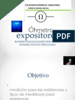 1er Parcial Exposicion Ohmetro