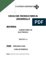 Lab. de Electronica 7