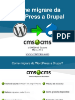 Come Migrare da WordPress a Drupal