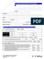 TfNSW Form 0017 VIPP Application Form