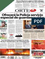 Periódico Norte de Ciudad Juárez edición impresa del 26 marzo del 2014