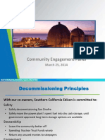 SoCal Edison's presentation on decommissioning  of San Onofre nuclear power plant