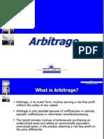Arbitrage Presentation