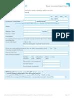 AU Claims Form
