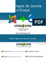Cómo migrar de Joomla a Drupal