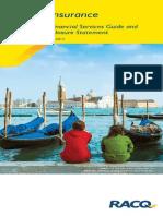 Pds Final - Racq Aaa Travel Insurance