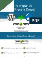 Cómo migrar de WordPress a Drupal con CMS2CMS
