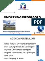 Universitas Diponegoro Pmb 2014 - Semarang