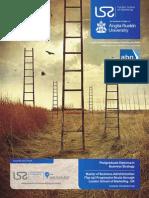 Manchester Management - MBA Programs Brochure