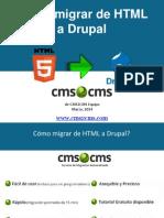 Cómo migrar de HTML a Drupal con CMS2CMS