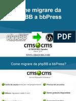 Come migrare da phpBB a bbPress