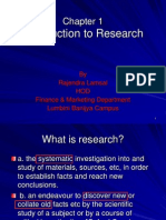01 - Introduction to Research