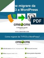[Cms2cms [Ppt Italian Typo3 to Wordpress