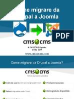 Come migrare da Drupal a Joomla
