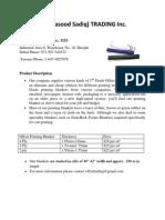 Offset Printing Blanket