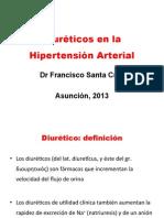Diureticos en HTA 2013