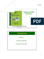 2. Pedoman CPOB Edisi 2012 (Dr. Uluan Sitorus)