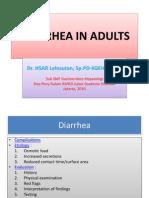 Diarrhea in Adults