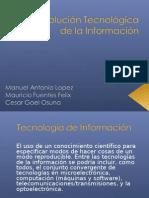 Revolución Tecnológica de la Información - 4ta Rev. Ind.