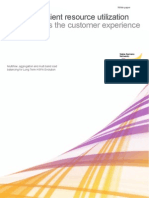 Nokia Siemens Networks White Paper Efficient resource utilization improves the customer experience