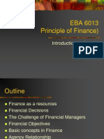 EBA 6013 (Intro to Finance)
