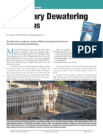 Temporary Dewatering Systems