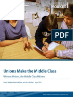 Unions Make the Middleclass