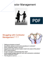 C Dane Contract Management