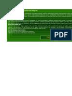 Cashflow Statement Sample
