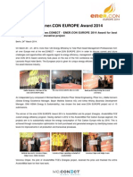 Wc1403 Enercon Award PR - FINAL