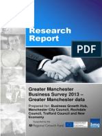 Greater Manchester Business Survey