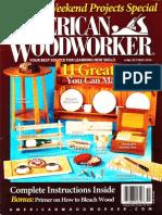 American Woodworker №168 October-November 2013