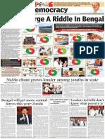 Saffron Surge in Bengal!