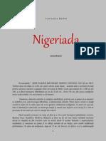 NIGERIADA  (monodrama)