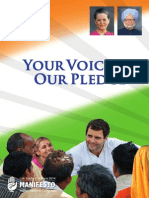 Congress Manifesto 2014 Lok Sabha polls
