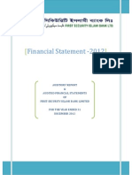 Financial Statement2012