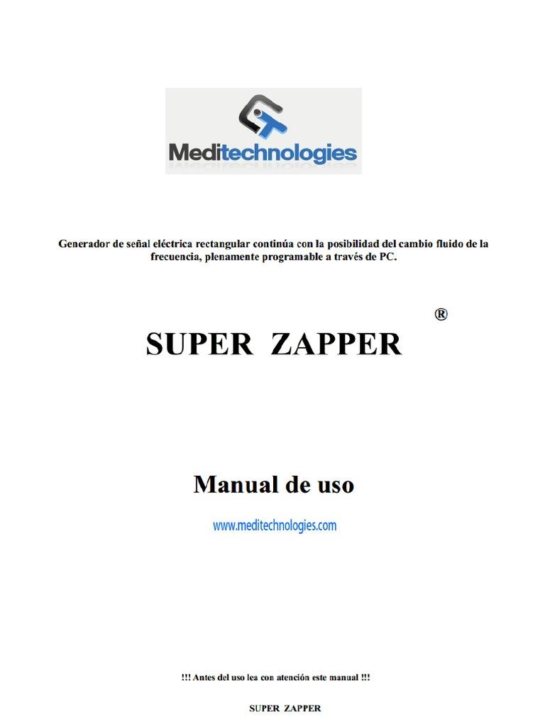 Circuito Zapper : Zapper manual v