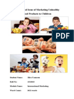 Children Ethical Marketing Issue-2