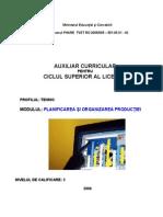 Planificarea Si Organizarea Productiei_M. Dobre