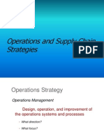 Operations and Supply Chain Strategy Chapter 2