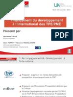 PDJ C Financement du développement à l-'international