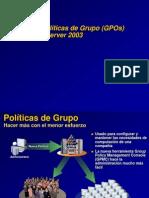 GestiondePoliticasdeGrupoenWindowsServer2003.ppt