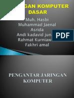 Ppt Jaringan Komputer Dasar A